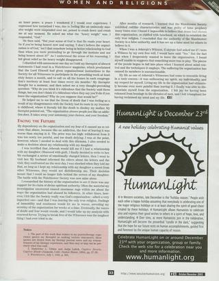 Diane Wilson - Articles